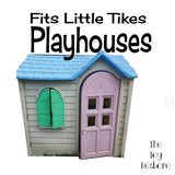 Decals Replacement Sticker Fits Little Tikes Vintage Country Cottage Playhouse Cubby