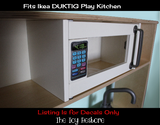 Replacement Stickers for Ikea DUKTIG Play Kitchen Decals Microwave Dial Oven Panel, Dishwasher