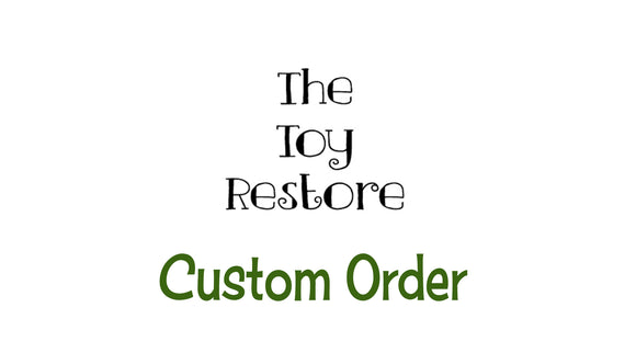 Custom Order Decals Replacement Stickers fits Little Tikes Custom Cozy Coupe II