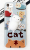 3D Squishy Sleeping Kitten Phone Case For iPhone 5 6 7 Plus