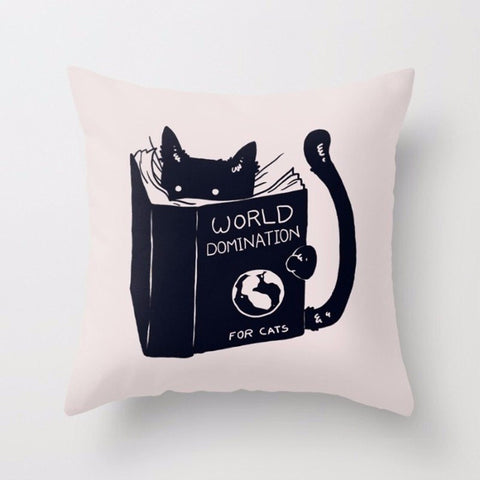Master Mind Kitty Pillows