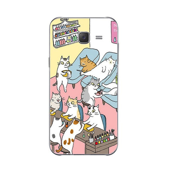 Pedi Paw Salon Phone Case For Samsung Galaxy J Series