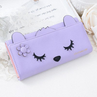 Sleeping Kitty Wallet Clutch