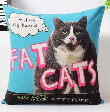 Fat Cats Pillow