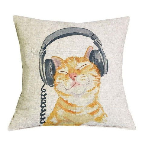 Sonic Bliss Kitty Pillow
