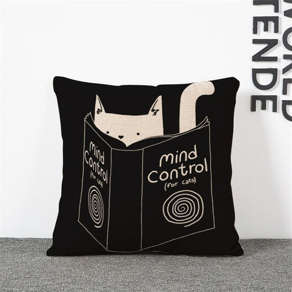 Kitty Mind Control Pillows