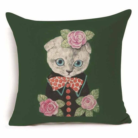 Frida Kahtlo Artist Pillow