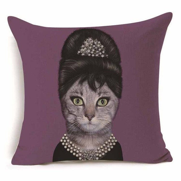 Audrey Heppurrn in Breakfast at Tiffurneys Pillow