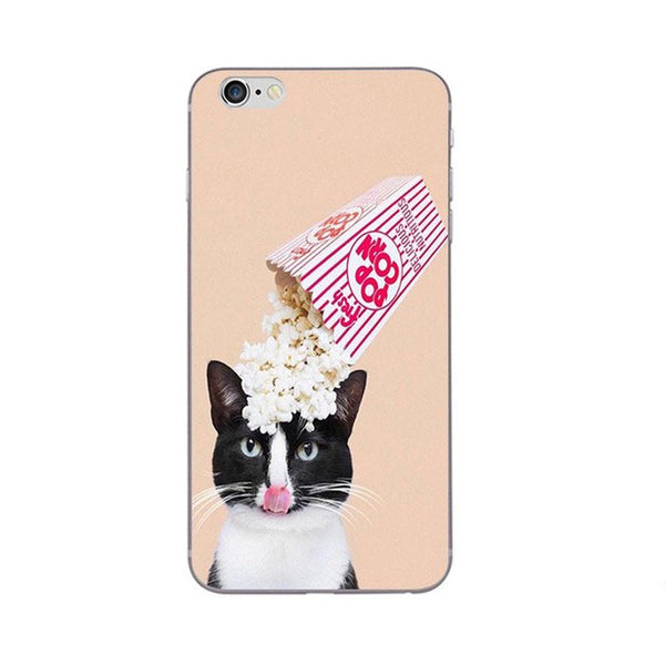 I Love Popcorn Phone Case For Apple iPhone