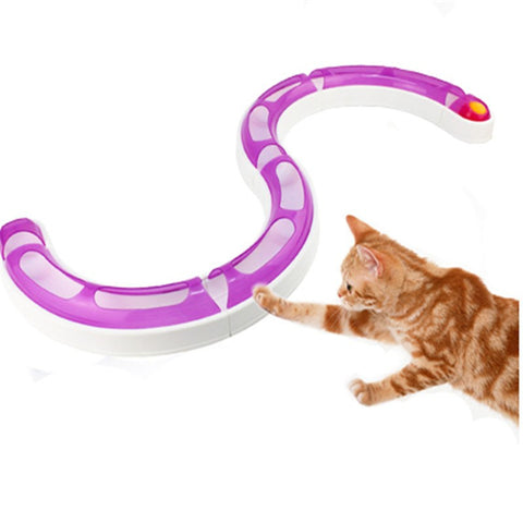 Chase and Play Interactive Ball and Track Toy