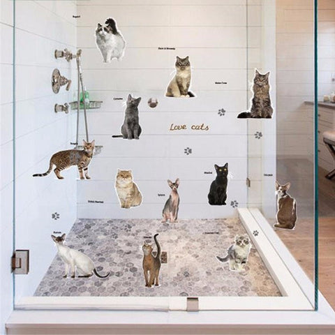 Best in Show Photo Cat Wall Decals