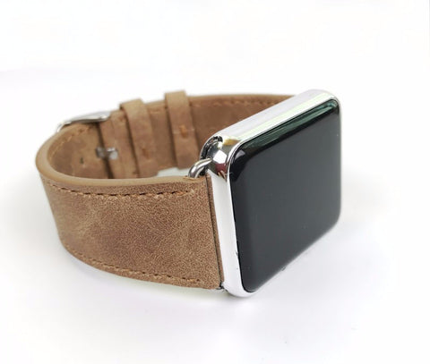 Classic Leather Strap For Apple Watch