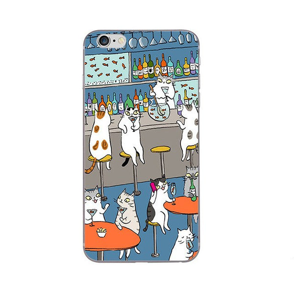 Happy Meowrrr Phone Case For Apple iPhone