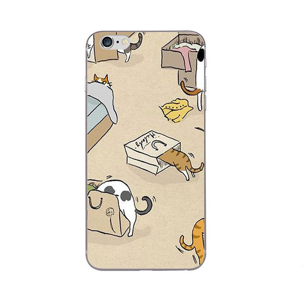 Cats in the Bag Phone Case For Apple iPhone