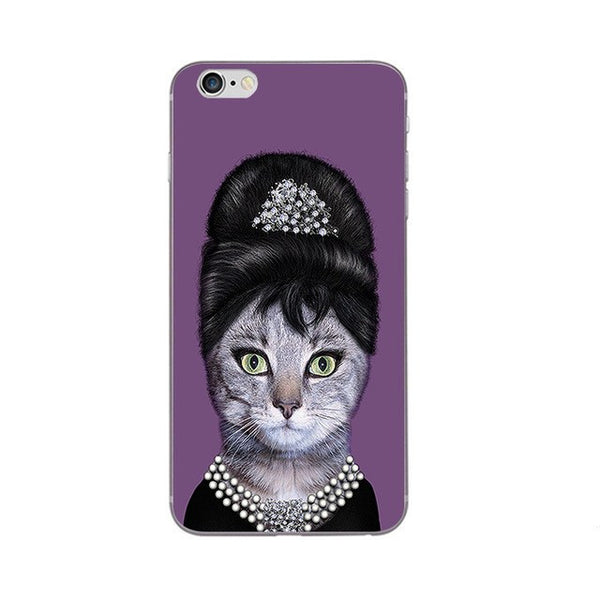 Audrey Heppurrn in Breakfast at Tiffurneys Phone Case For Apple iPhone