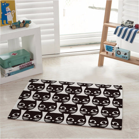 Crowded Cats Mat