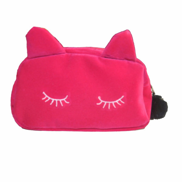 Sleeping Kitty Makeup Bag
