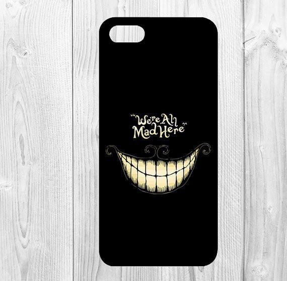 We're all mad here Phone Case for Apple iphone