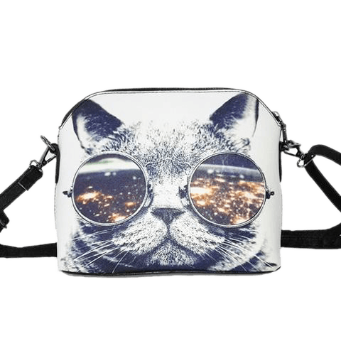 Spaceman Kitty Bag