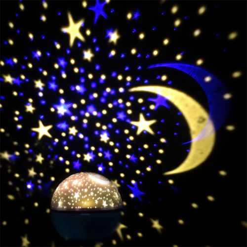 Crystal Romantic Gift Cosmos Star Sky Master Projector Starry Night Light Lamp