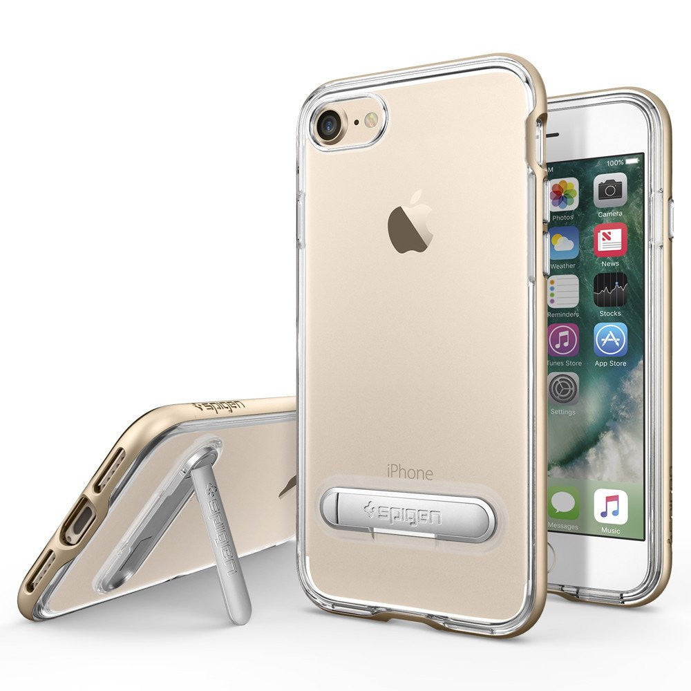iphone 7 spigen case gold