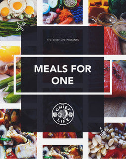 """Meals for One"" Recipe Ebook"