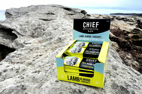 CHIEF BAR - Lamb & Rosemary (Box of 15)