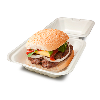 Earth-Pac Standard Bio Burger Box