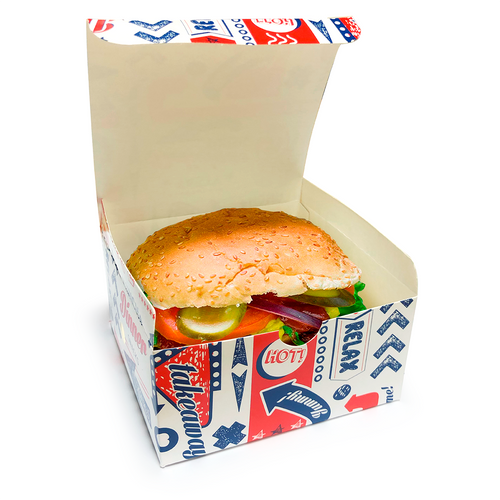 Fresco Standard Burger Box