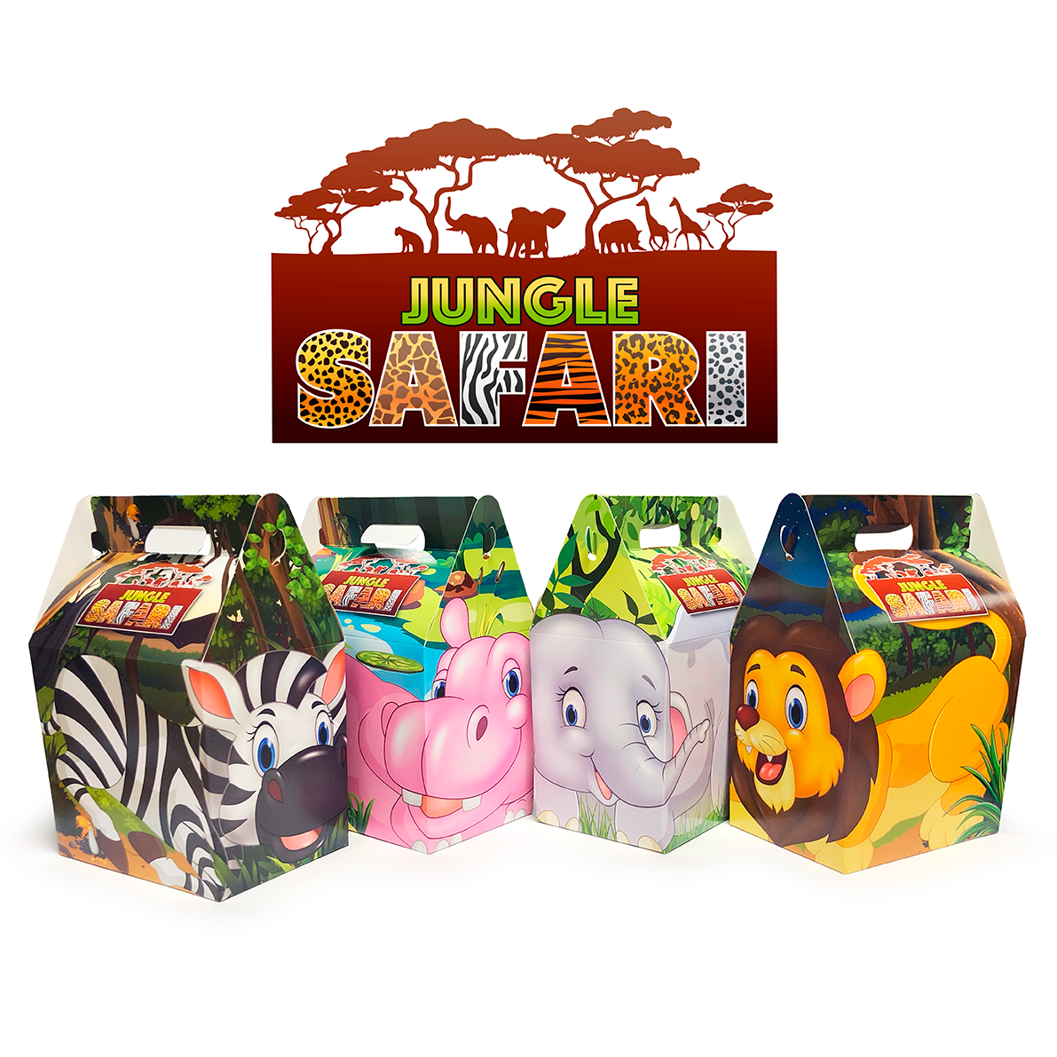 Jungle Safari Meal Boxes