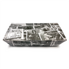 Retro Newsprint Medium Lidded Tray