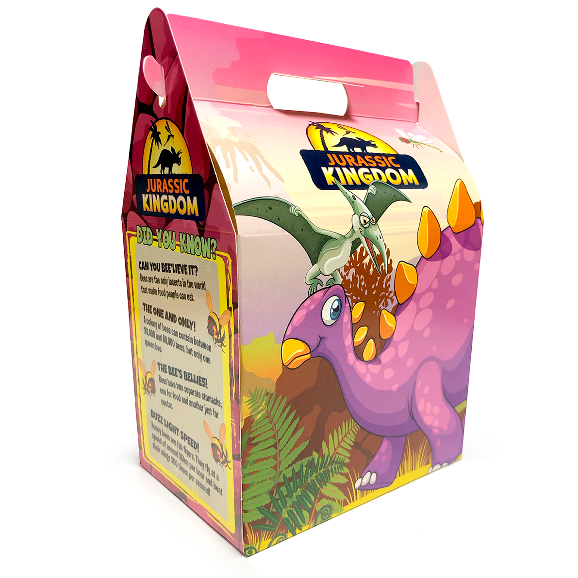 Jurassic Kingdom Meal Boxes