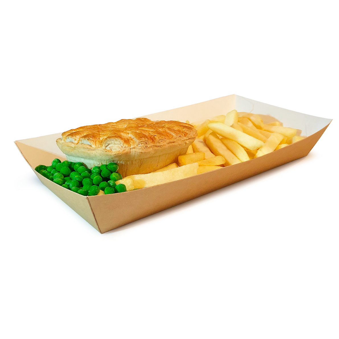 Simply Kraft Large Tapered Tray