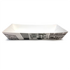 Retro Newsprint Large Tapered Tray