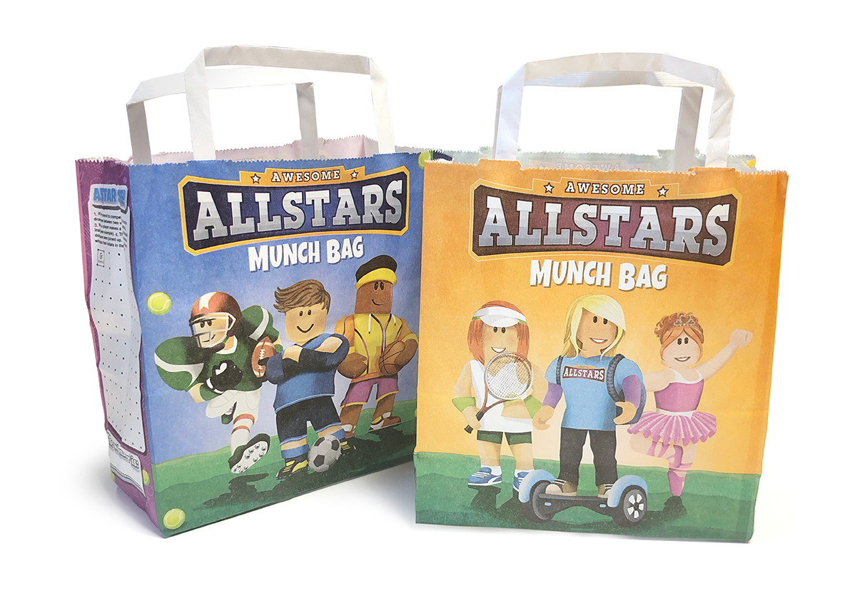 Allstars Munch Bags