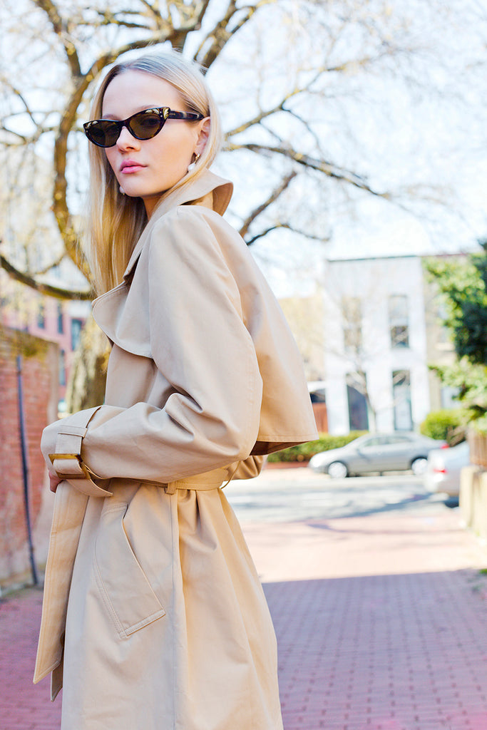 Just Female Trench Coat