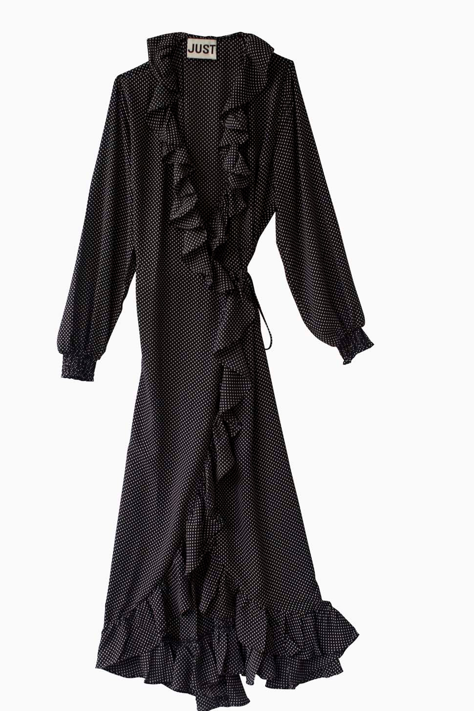 Niro Maxi Wrap Dress 2