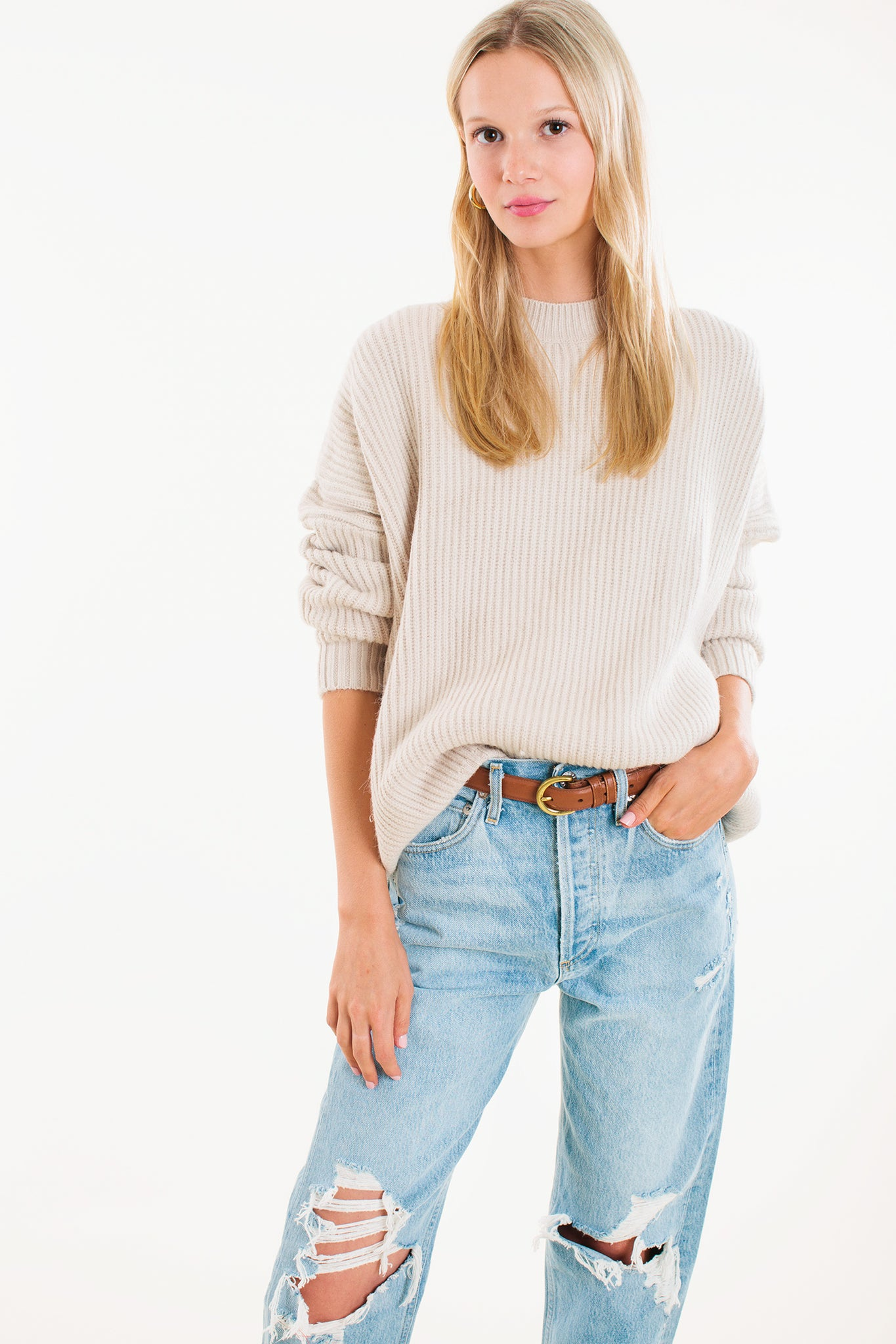 Chloe Knitted Sweater 1