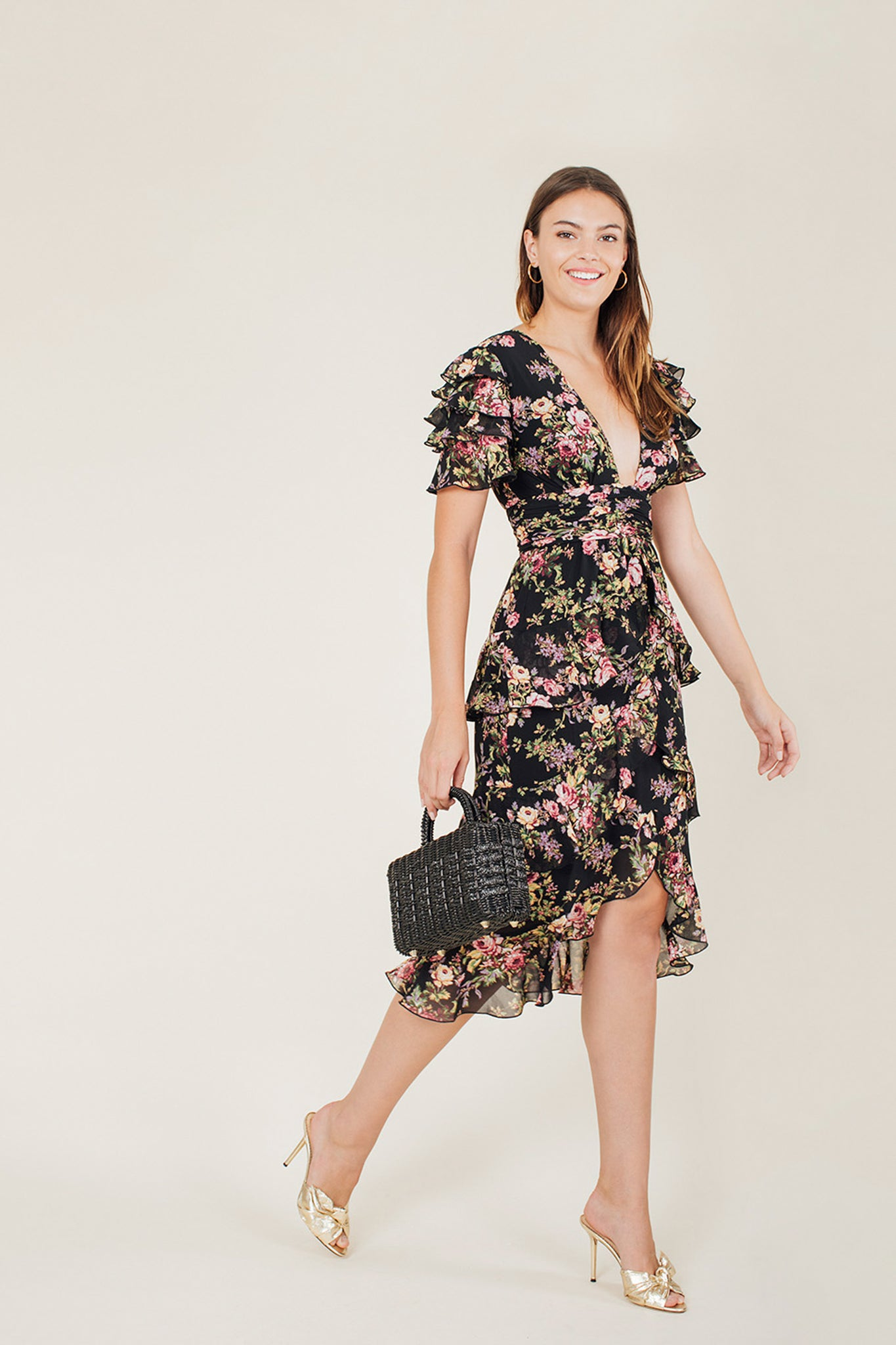 Miranda Tiered Ruffle Dress