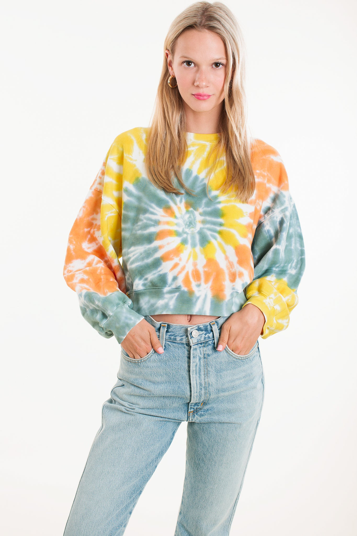 Balloon Sleeve Sweatshirt 2