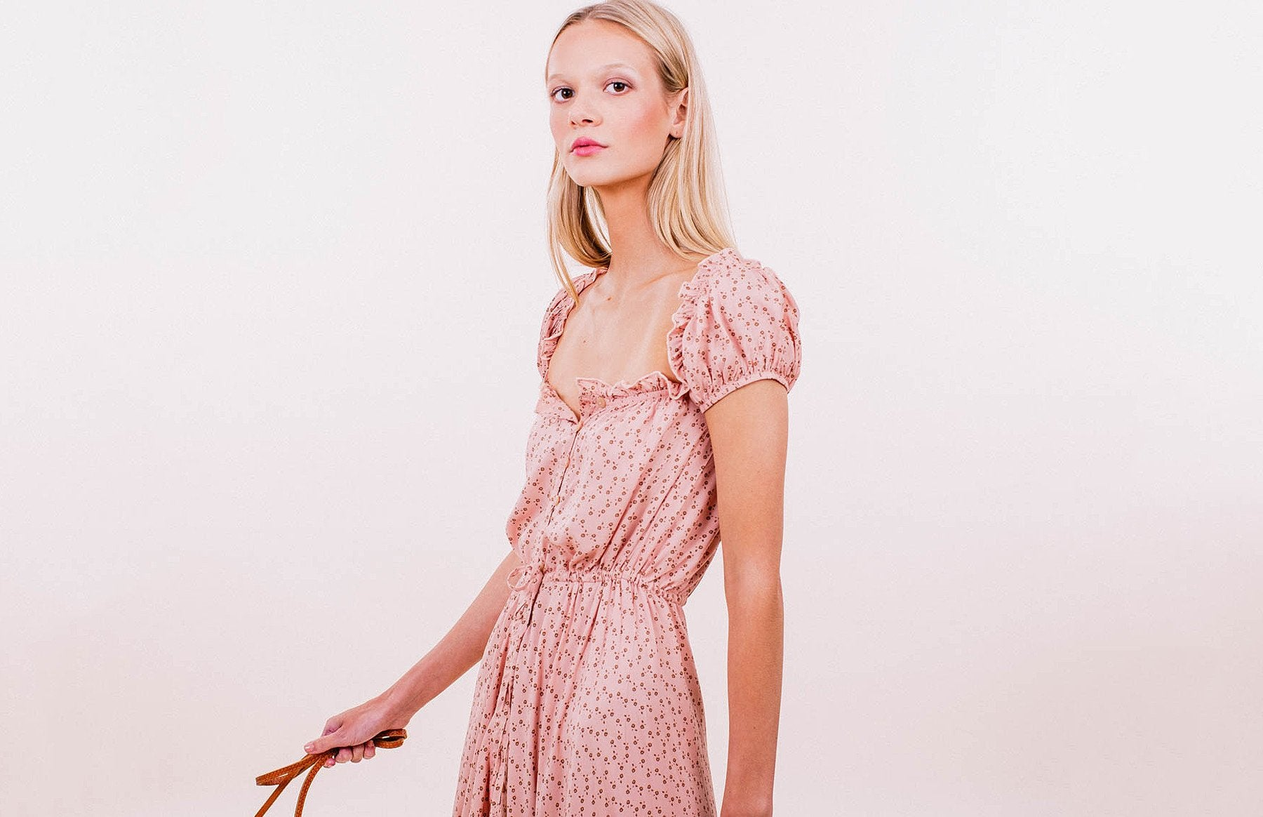Leila Button Down Day Dress