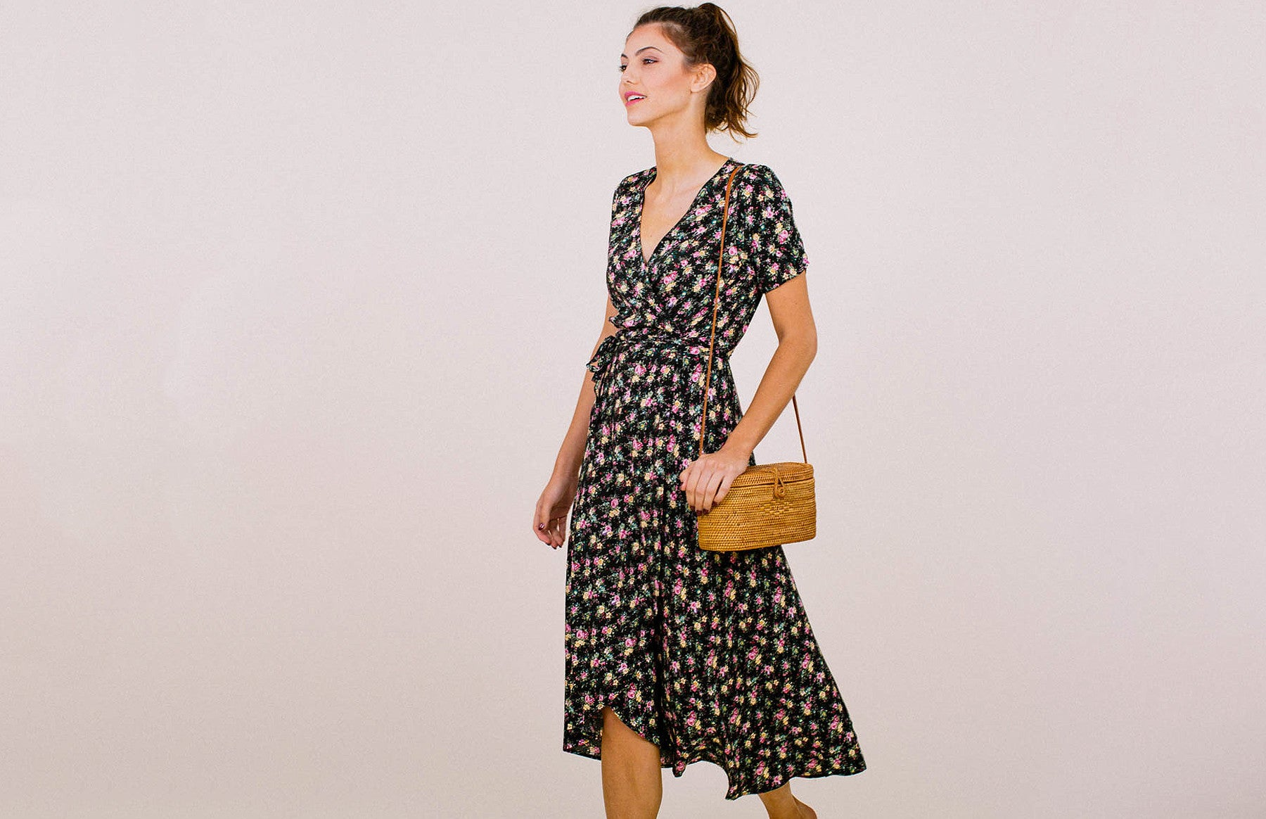 Little Lady Wrap Dress