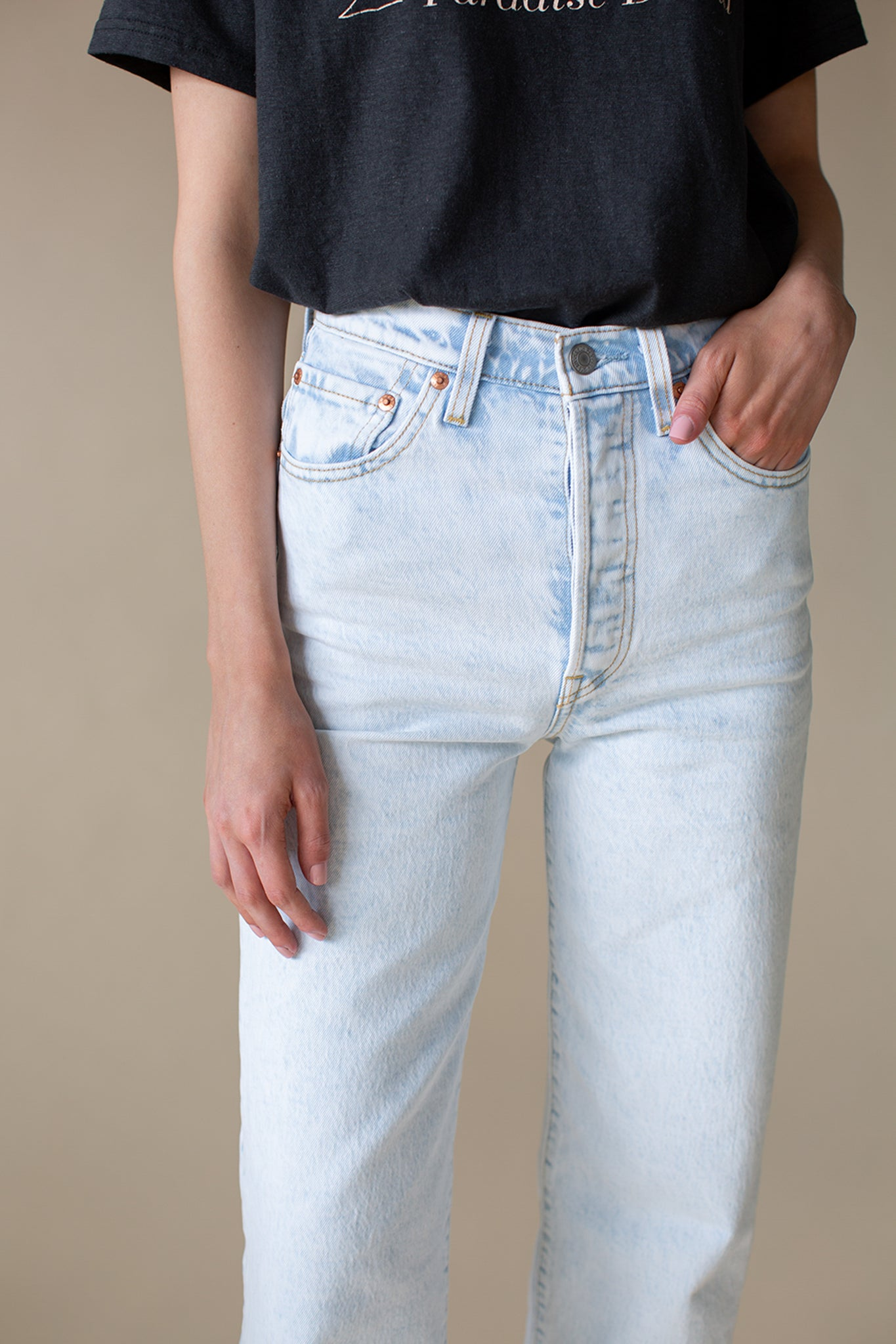 Ribcage Straight Ankle Denim 2