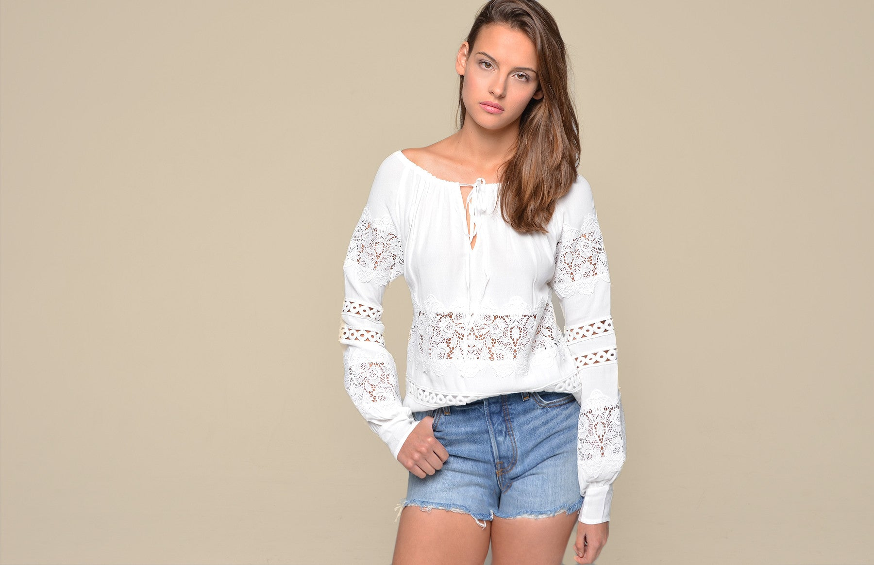 Hayley Long Sleeve Blouse - For Love and Lemons - 5