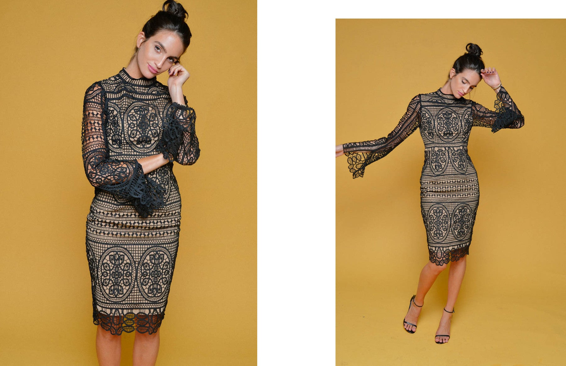 Mania Lace Dress - Ministry of Style - 3