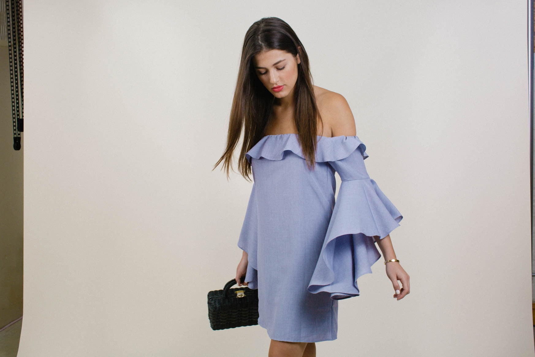 Kiera Ruffle Dress