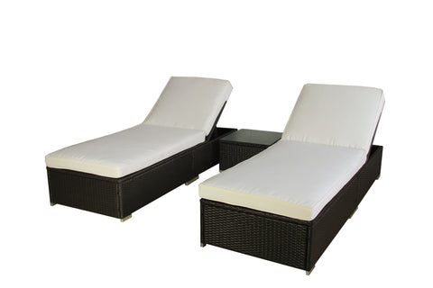 AURO 3-Piece Lounger Set
