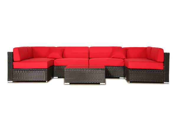 Cushion Slipcover Set for Auro 7-Piece Sectional