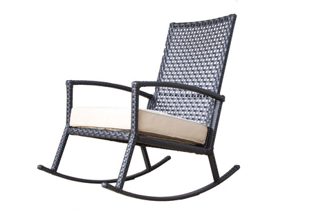 Auro Patio Rocking Chair with Ergonomic Arms