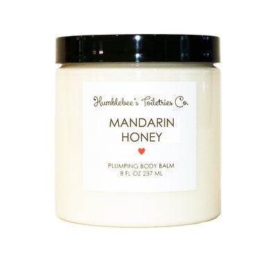 MANDARIN HONEY PLUMPING BODY BALM